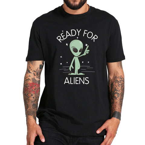 Ready For Aliens T-Shirts - Cozzoo