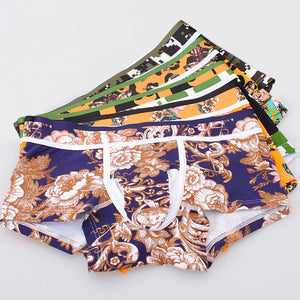 Black, Blue, Yellow, Camouflage And Floral Collection - Men's Boxer Shorts Underwear - Cozzoo