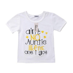 Ain't No Auntie Like The One I Got Baby Kid Child Toddler Newborn T-shirt - Cozzoo