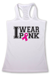 Women's I Wear PINK Breast Cancer Awareness - Cozzoo