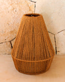 Natural Fiber Pendant Lamp