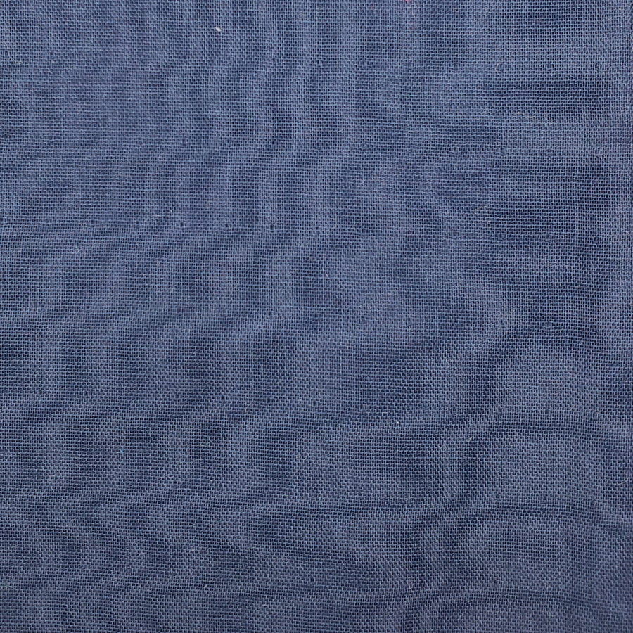 Ichi No Kire Solid Color 20 Navy | Double Gauze
