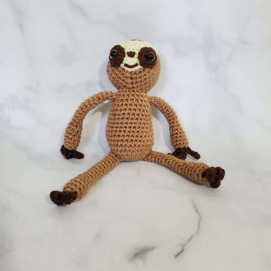 Sloth Plush Toy - 4 Inches