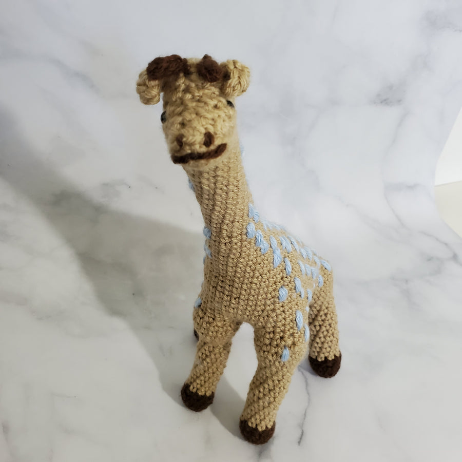 Brown Giraffe Plush Toy - 13 Inches