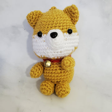 Shiba Inu Plush Key Chain - 4 Inches
