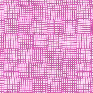 Cats & Dogs - Grid in Pink