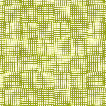 Cats & Dogs - Grid in Green