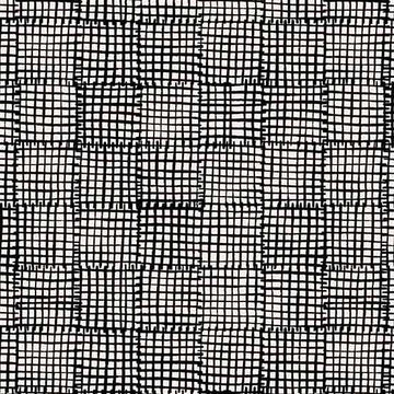 Cats & Dogs - Grid in Black