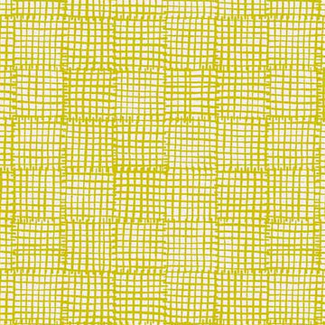 Cats & Dogs - Grid in Yellow