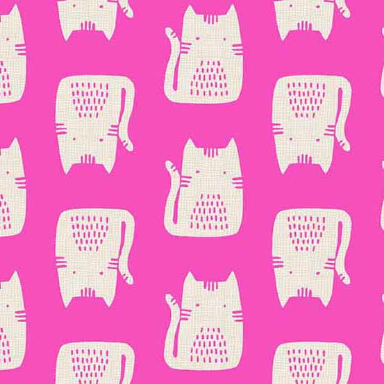 Cats & Dogs - Cat in Pink