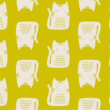 Cats & Dogs - Cat in Yellow