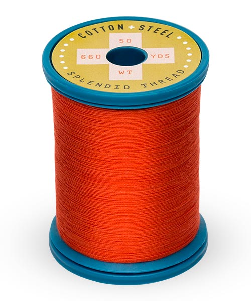 50wt Cotton Thread Spool - Light Red