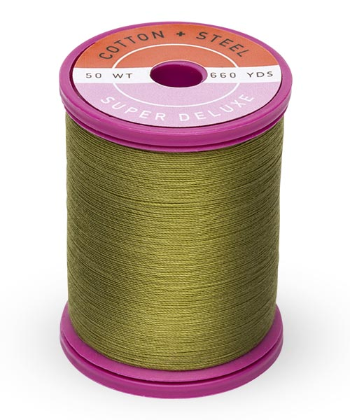 50wt Cotton Thread Spool - Light Army Green