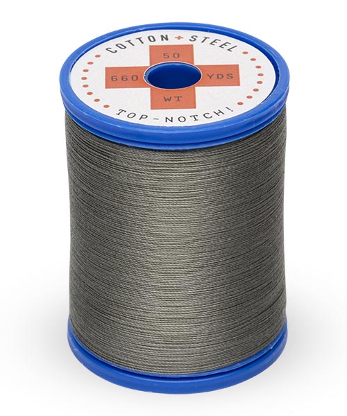 50wt Cotton Thread Spool - Charcoal Gray