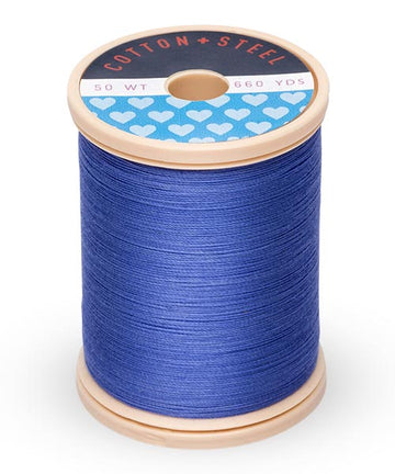 50wt Cotton Thread Spool - Dark Periwinkle