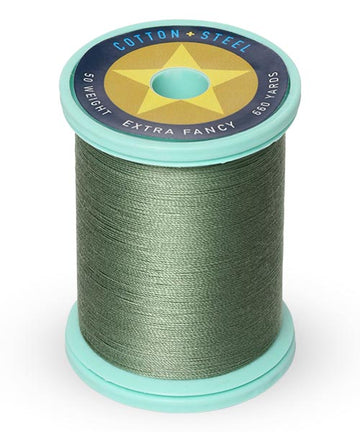 50wt Cotton Thread Spool - French Green