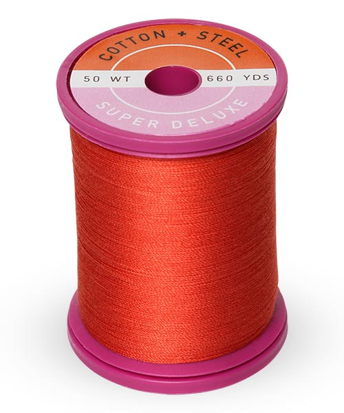 50wt Cotton Thread Spool - Poppy