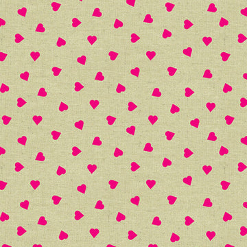Mix Tape - Hearts in Neon | Broadcloth Canvas