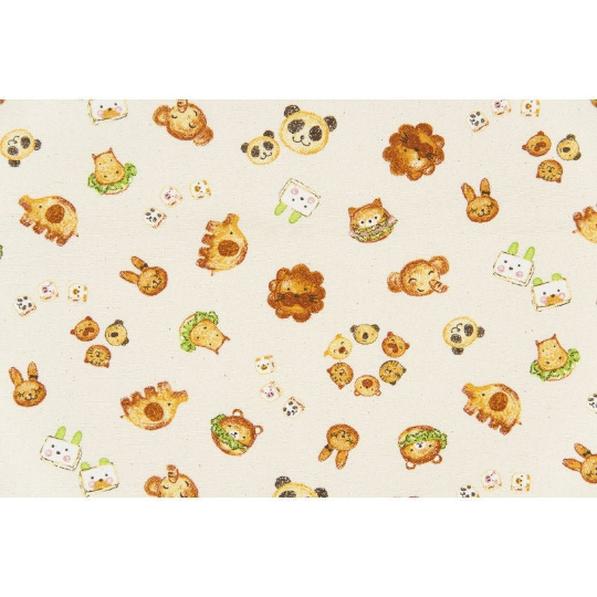 Kyraben Animal Snack in Cream | Oxford Cotton