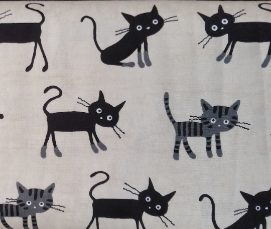 Cocoland - Black Cat | Oxford Cotton