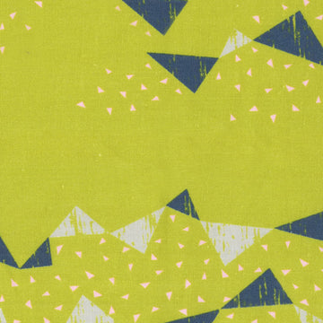 Tayutou Triangle in Citron | Canvas