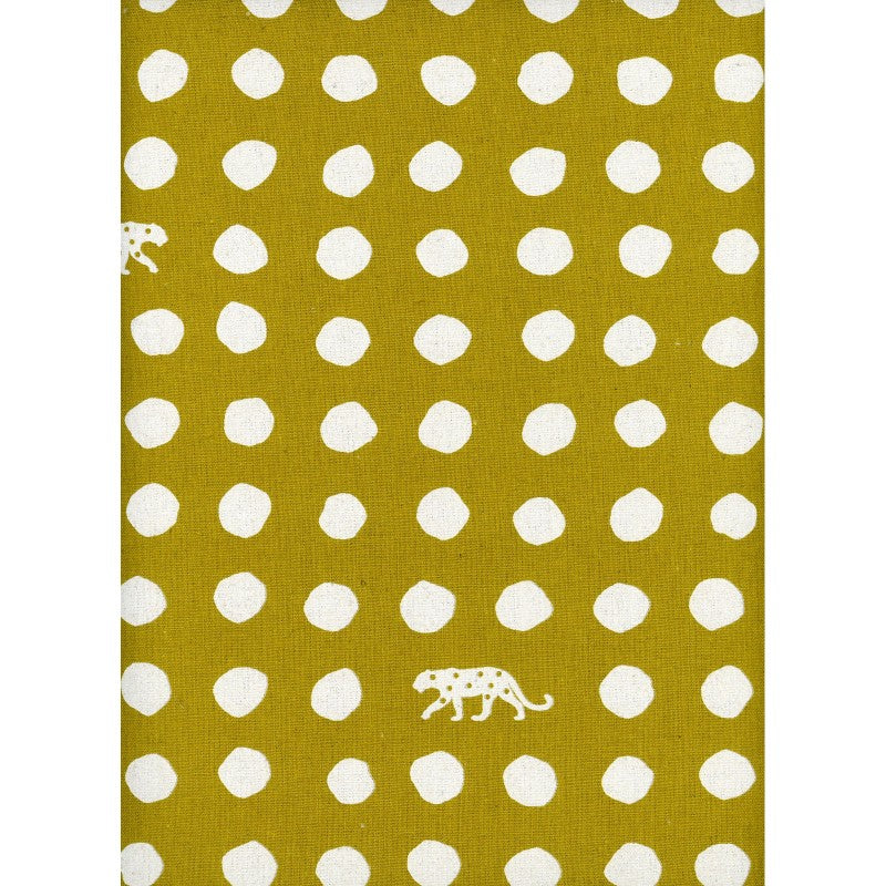 Small Dots in Mustard | Canvas