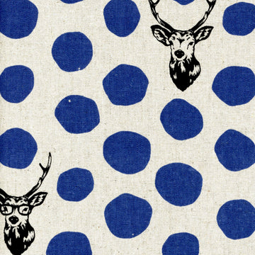 Sambar - Deer in Blue Natural | Canvas