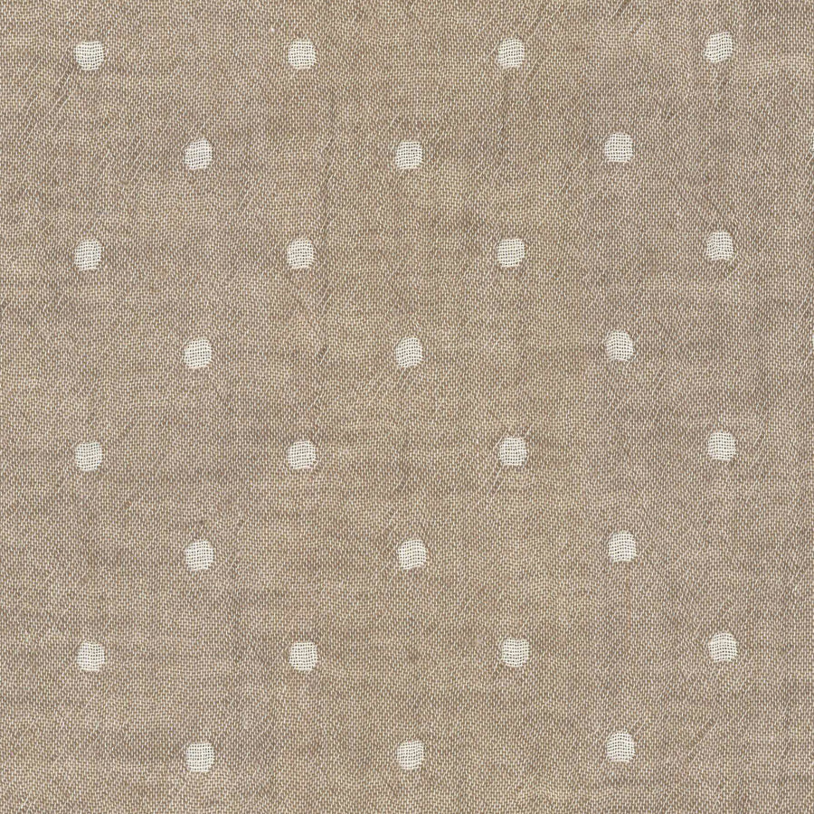 Solid Dots Beige | Double Gauze