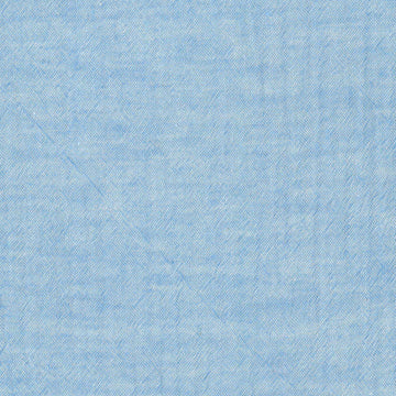 Solid Plain Light Denim Blue | Double Gauze