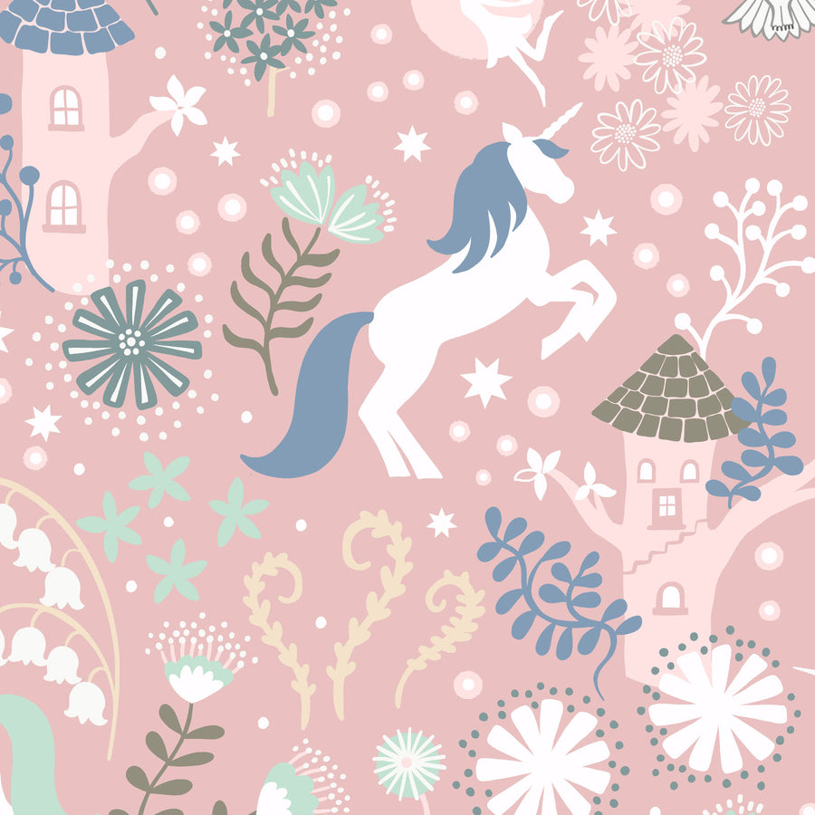 Fairy Lights Glow - Unicorn Forest in Pink