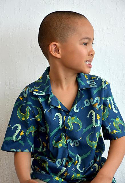 Magic Creatures - There be Dragons | Organic Poplin