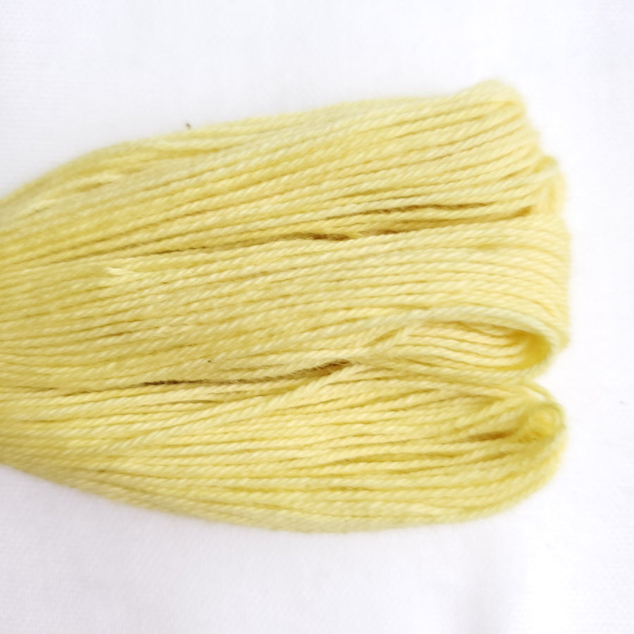 Natural Dyed Embroidery Thread - Color Y2