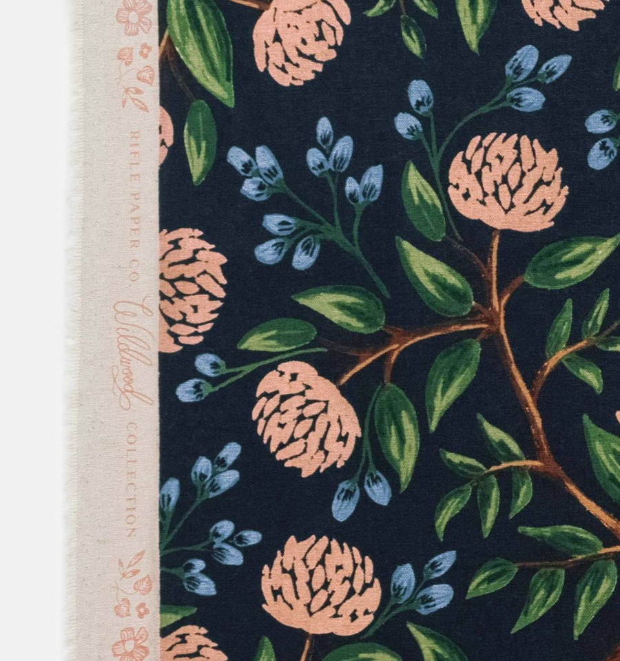 Wildwood - Peonies in Blue | Canvas