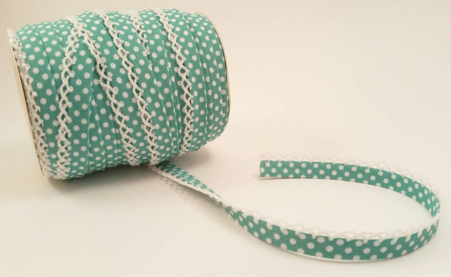 Picot Egde Double Fold Bias Tape