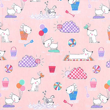Michael Miller Doggie Day Afternoon Fabric