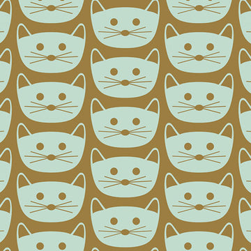 Cat Cotton Fabric