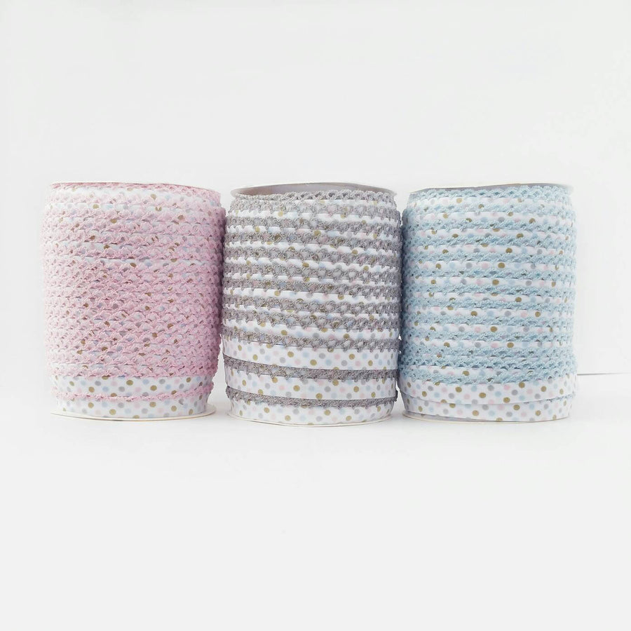 Picot Polka Dot Bias Tape