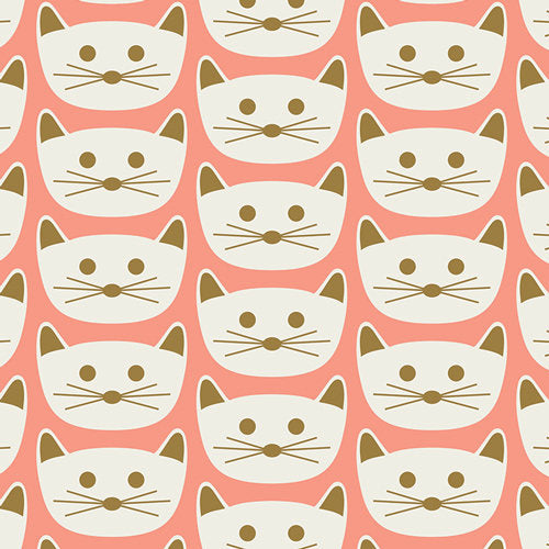 Cat Christmas Fabric