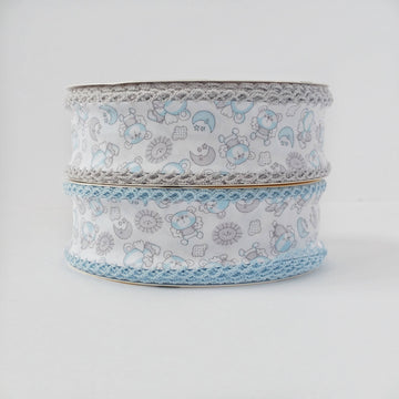 Baby Blue Single Fold Bias Tape
