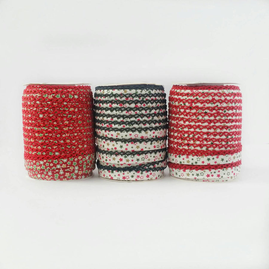 Christmas Bias Tape
