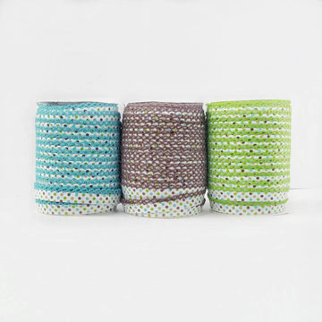 Green Double Fold Bias Tape