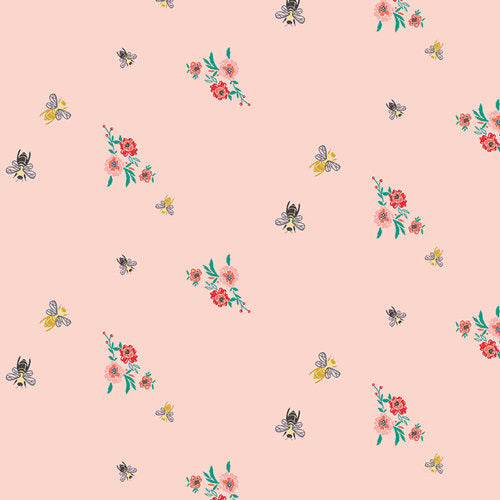 Bees & Bits Mellow Fabric