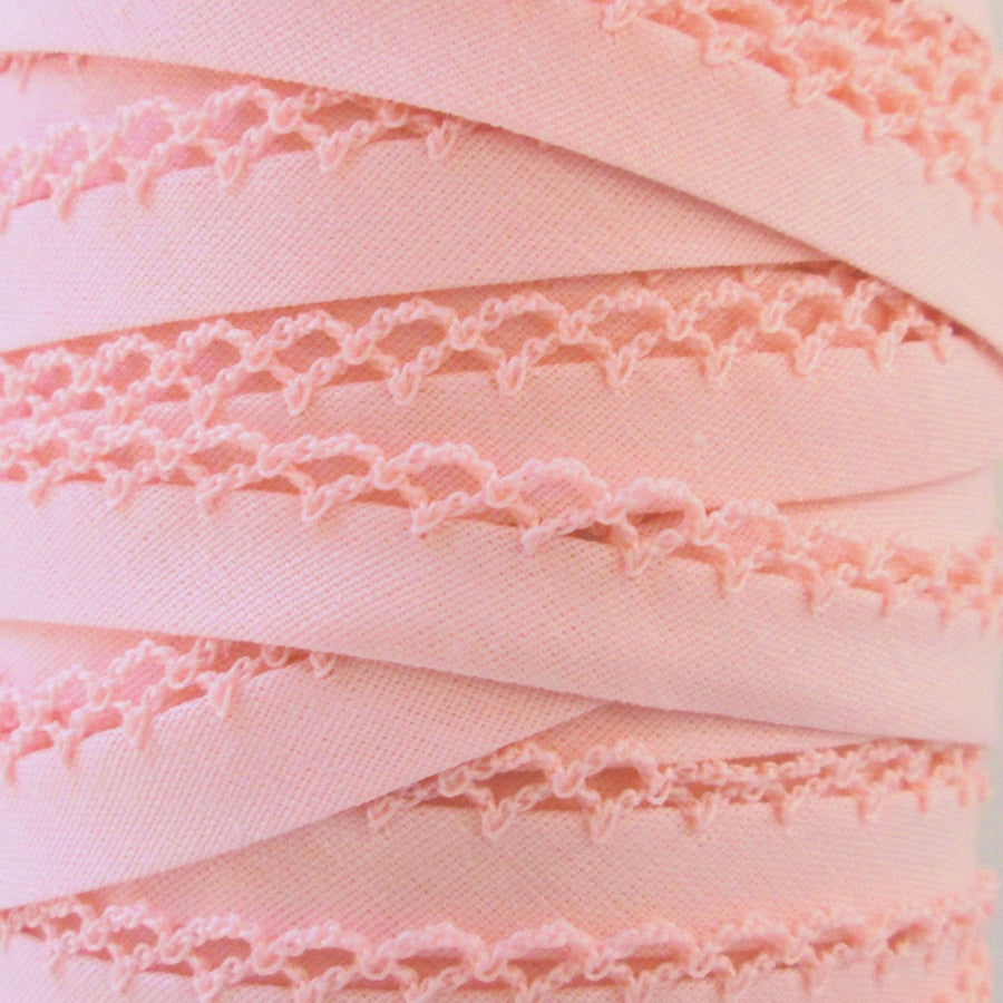 Pink Double Fold Bias Tape
