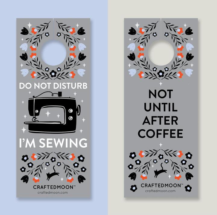 Sewing Room Door Hanger