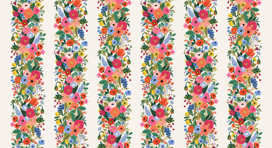 Wildwood - Garden Party Vines in Pink | Rayon