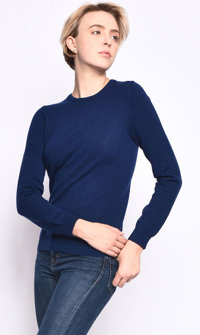 3VERY Women's Classic Round Neck