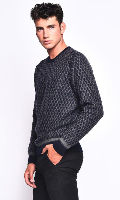 3VERY Cozy Cable Round Neck