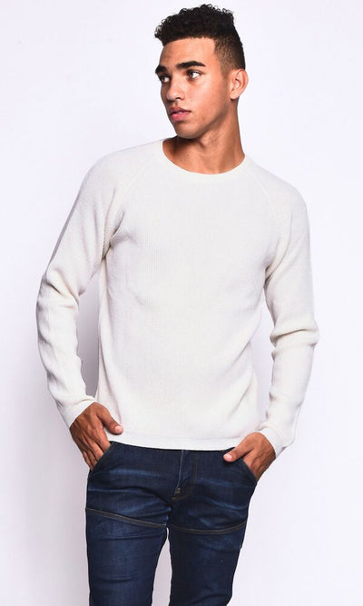 3VERY Women's Men's Unisex 100% Cashmere Ribbed Round Neck