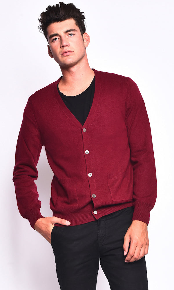 3VERY Classic V-Neck Cardigan