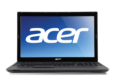 "(nSpire) Cheap Acer Aspire 5250 4GB, 320GB, 15.6"" Windows 10 AMD E300 Laptop - Front"